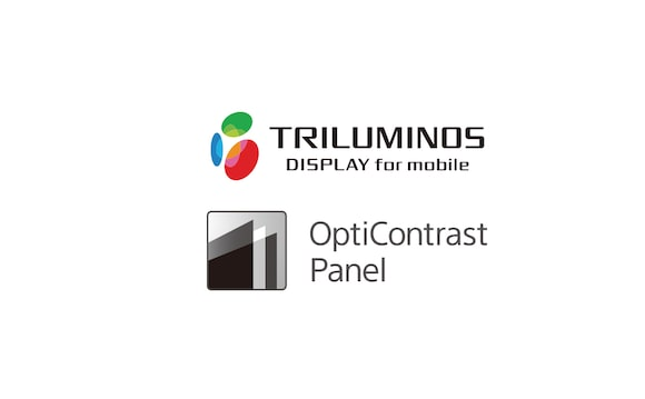 Logotipi TRILUMINOS Display i OptiContrast Panel