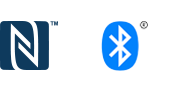Logotipi za Bluetooth® i NFC