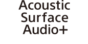 Logotip za Acoustic Surface Audio+