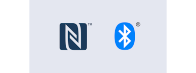 Logotipi za NFC i Bluetooth®