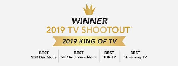 "Dobitnik nagrade ""King of TV"" za 2019."