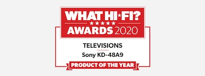 Logotip nagrade WHAT HI-FI TV 2020