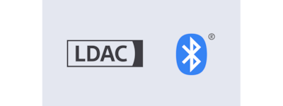 Logotipi za LDAC i BLUETOOTH®
