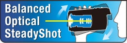 Balanced Optical SteadyShot logotip